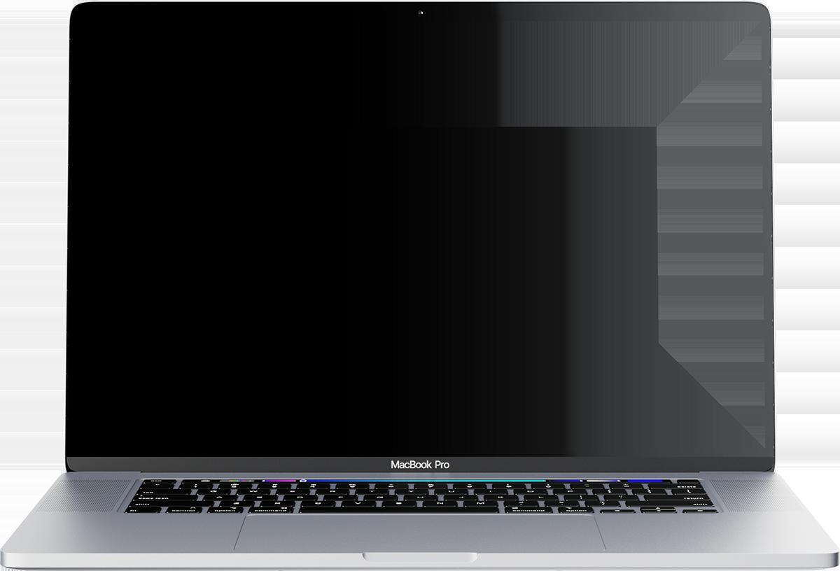 DigiRex Work - Laptop Mockup