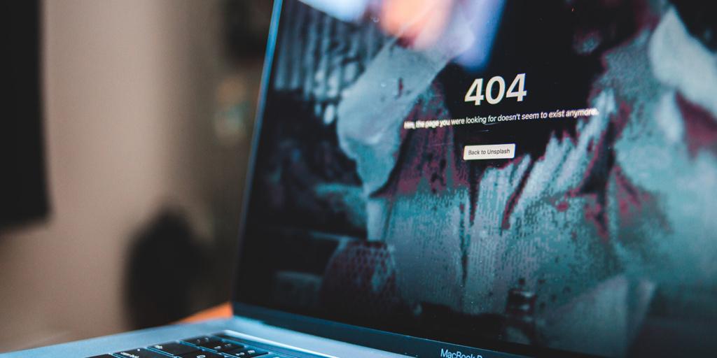 DigiRex Blog: 404 Errors: Laptop Closeup